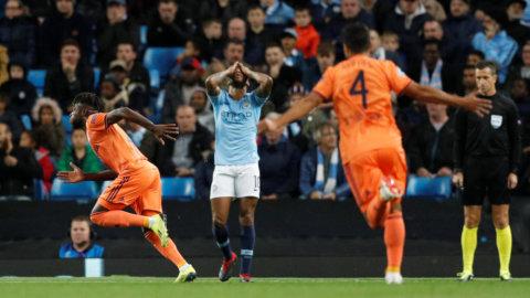 Jätteskrällen - City föll i Guardiolas frånvaro
