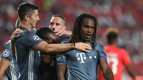 Stabil seger för Bayern - Lewandowski visade vägen
