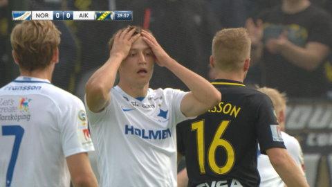 """Thern nära mot AIK: """"En jätteräddning"""""""