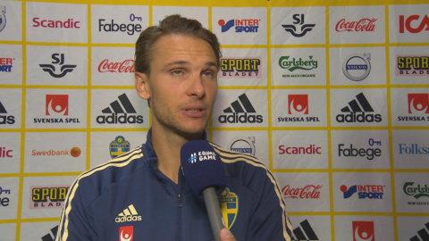 """Ekdal hyllar Olsson: """"Jag tror vi får se honom mycket framöver"""""""