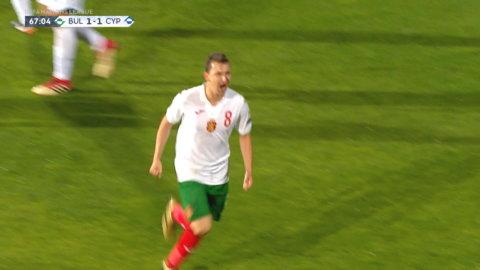 Höjdpunkter: Bulgarien dundrar in 2-1 mot Cypern