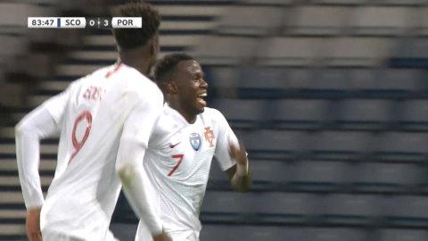 Höjdpunkter: Portugal vann träningslandskampen mot Skottland