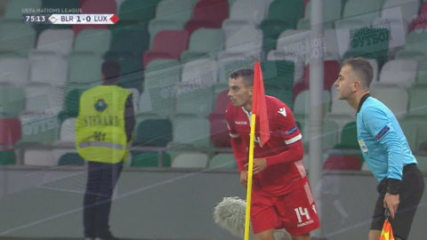 Höjdpunkter: Vitryssland slog Luxemburg med uddamål