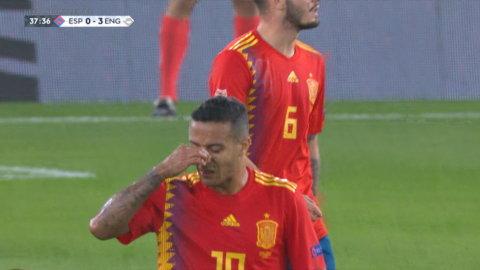 Mönsteranfall ger 3-0 för England mot Spanien
