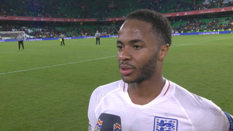 """Sterling bröt långa måltorkan: """"Min roll att göra mål"""""""