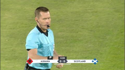 Höjdpunkter: Kross av Skottland mot Albanien