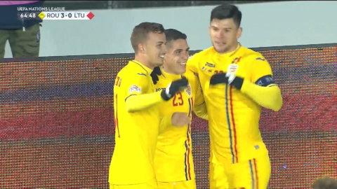 Höjdpunkter: Rumänien starkast mot Litauen