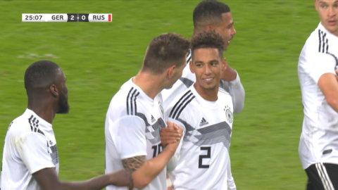 Süle utökar för Tyskland efter hörna