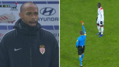 Dråpliga scener: Monacos bedrövliga start – på halvleken
