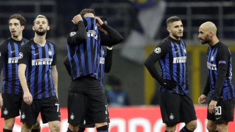 Fiaskot: Inter utslaget efter bottennappet mot PSV