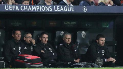 Fortsatt tungt för Mourinho - föll borta mot Valencia