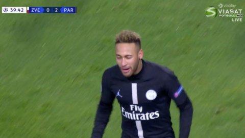 """""""Fotbollsartisteri på högsta nivå"""" - Neymar utökar PSG:s ledning"""