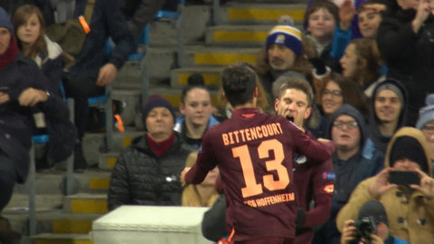 Hoffenheim chockar - tar ledning borta mot City