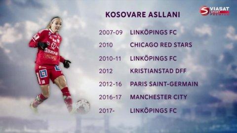Kosovare Asllani om varför hon återvände till Sverige