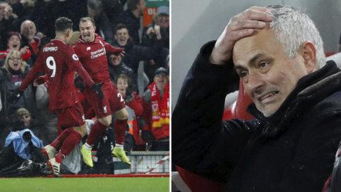 Liverpool upp i serieledning – efter seger mot ärkerivalen