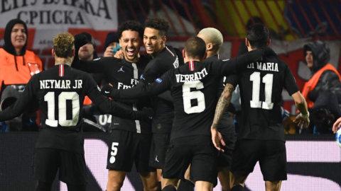 PSG vann gruppen efter Mbappés uppvisning