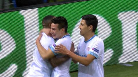 PSV tar en överraskande ledning borta mot Inter