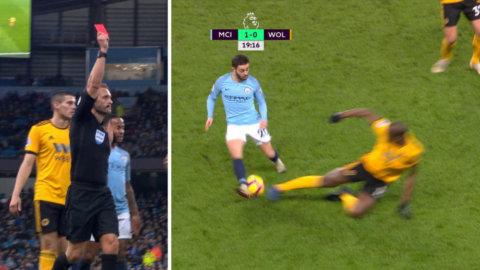 City-spelaren brutalt kapad - utvisad direkt