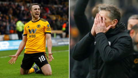 Wolves säkrade segern på övertid - tack vare hat-trickhjälten