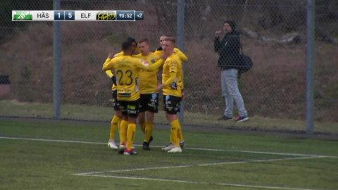Höjdpunkter: Elfsborg tog övertygande seger mot Hässleholm efter skakig start