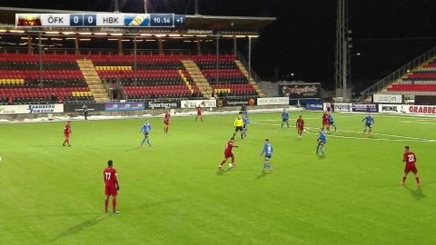 Höjdpunkter: HBK klarade kryss mot Östersund