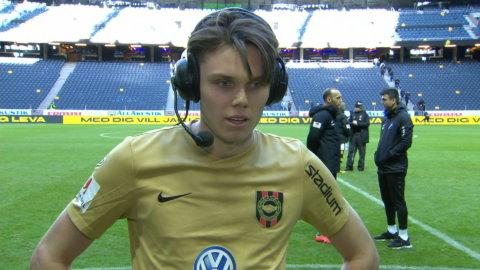 """Förre AIK-spelaren: """"Alltid kul att göra mål"""""""