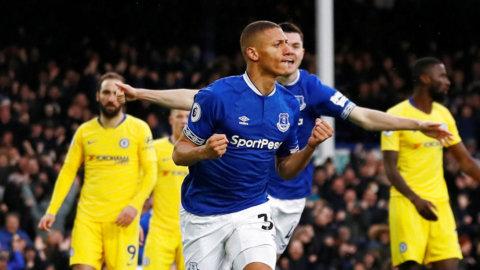 Richarlison i huvudrollen - när Everton överraskade mot Chelsea
