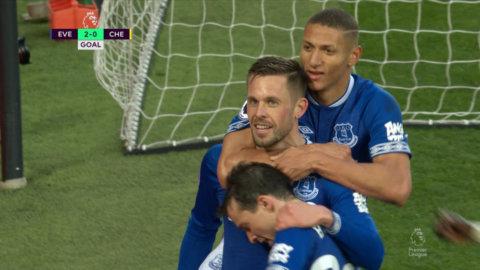 Sigurdsson utökar Evertons ledning – Richarlison återigen inblandad