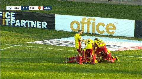 Cahais kvitterar sent mot HBK - Ribery med fint förarbete