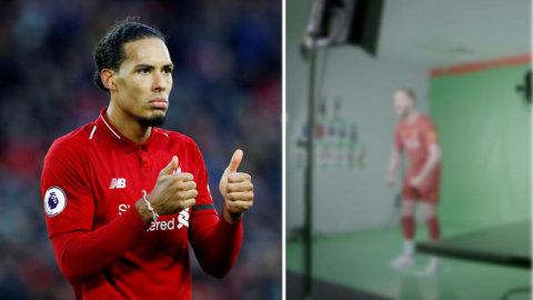Liverpool presenterar nytt hemmaställ till nästa säsong