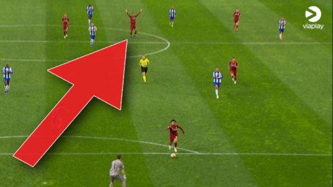 Salah fri med målvakten – då uppmärksammas van Dijks agerande