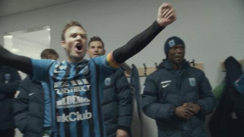 Sirius bakom kulisserna - häng med från träning till seger mot AFC