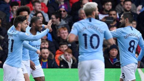 Sterlings dubbel bärgade segern för Manchester City