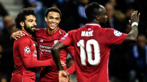Styrkebesked från Liverpool - vidare efter storseger mot Porto
