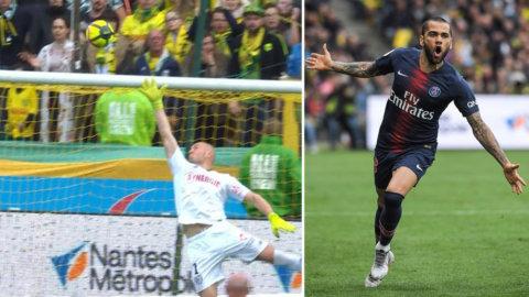 Trots ny förlust - Dani Alves stod för säsongens vackraste mål