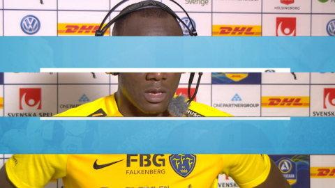 """FFF:s oväntade målskytt mot HIF: """"Ett fint mål"""""""