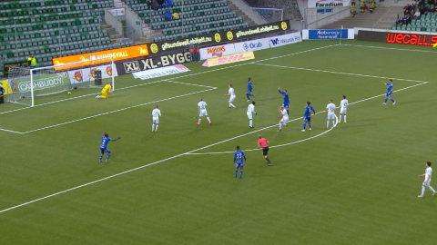 Höjdpunkter: Dubbla jättetabbar när Gif Sundsvall och AIK kryssade