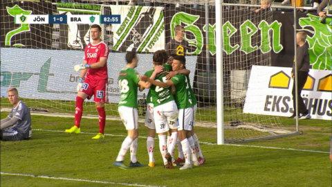 Höjdpunkter: Säker seger för J-Södra mot Brage