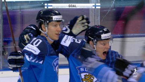 Kalldusch för Tre Kronor — Finland tar ledningen direkt