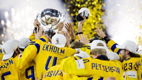 KLART: Sverige kommer arrangera hockey-VM med grannlandet