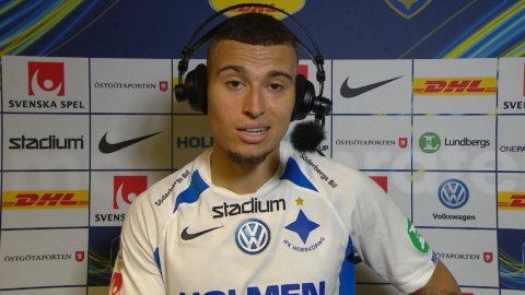 """Larsson: """"Viktiga var att vi vann"""""""