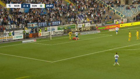 Norrköping utökar - Larssons avslut styrs i mål