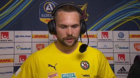 """ÖSK-målvakten: """"En bra seger"""""""