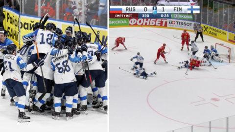 SKRÄLLEN: Finland till final – besegrade Ryssland stjärnlaget