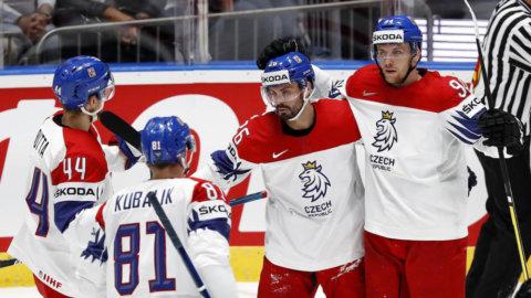 Tjeckiens stora uppvisning - vann överlägset mot Österrike