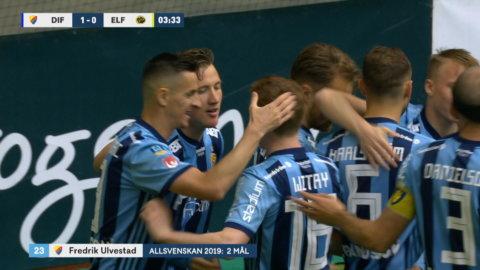 Ulvestad ger Djurgården drömstart mot Elfsborg