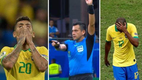 VAR-kaos fällde Brasilien – förnekades tre gånger om
