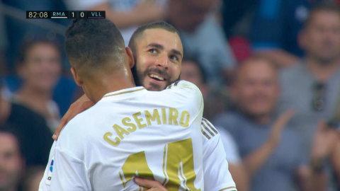 Benzema visar klass - ger Real Madrid ledningen