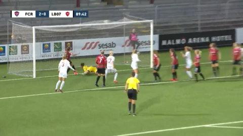 Höjdpunkter: Anvegård nätade i debuten när Rosengård vann