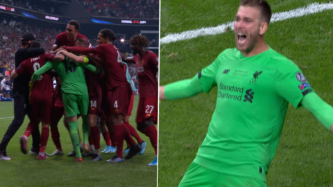 Liverpool segrar i Supercupen – Adrián stor matchhjälte